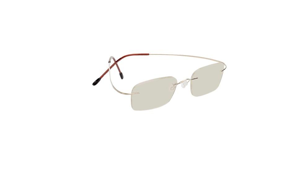 Billiga kompletta glasögon modell Mackay Gold i glas med färgen Grå 10% för  499 - d00743907f1be