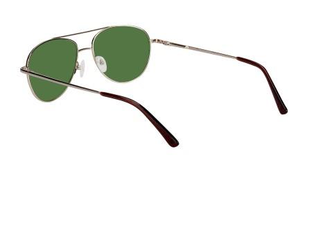 Billiga kompletta glasögon modell Glendale Gold i glas med färgen Pilot-Grön  75% för 499 - 056e9e39fb411