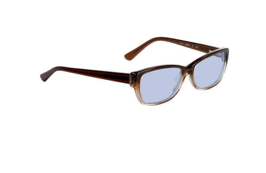 Billiga kompletta glasögon modell Piura Browntransparent i