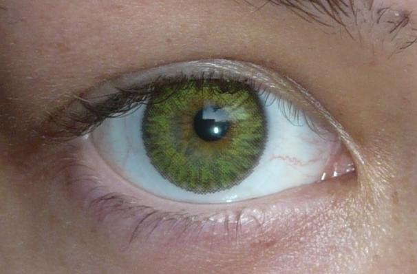 Linn Elle Freshlook Colorblends Gemstone green large 1
